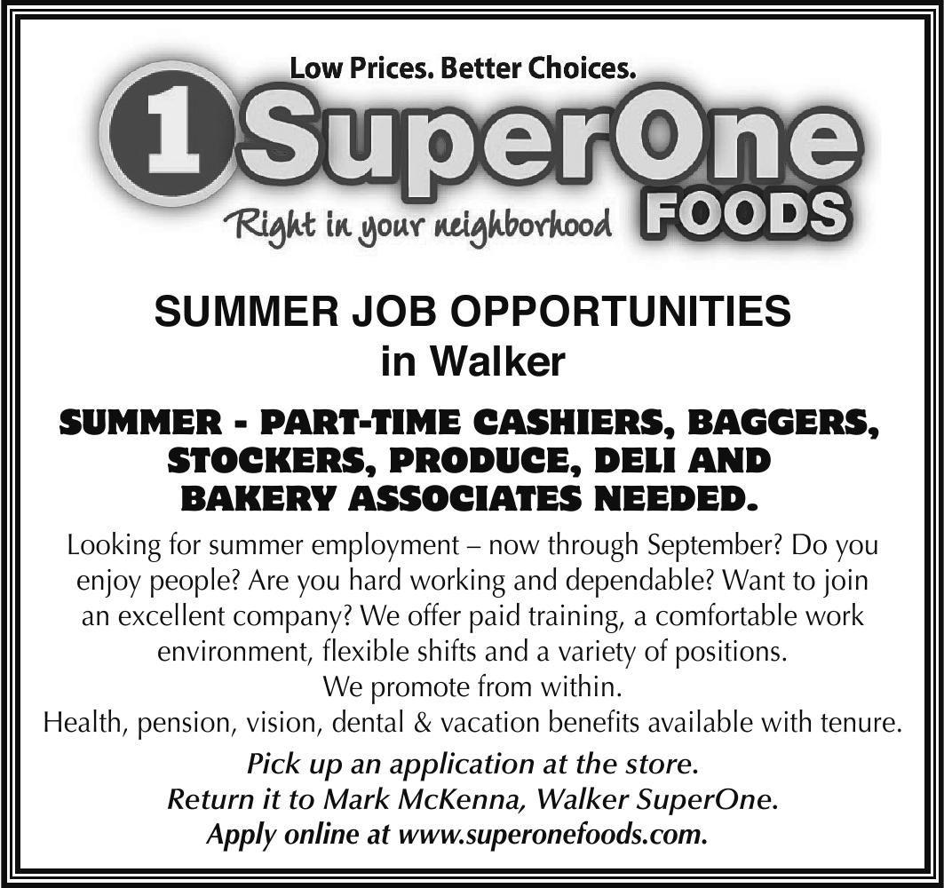 summer job opportunities super one the pilot independent summer job opportunities super one