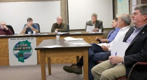 Cass board confers with legislators