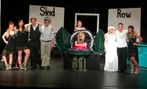 The cast and
