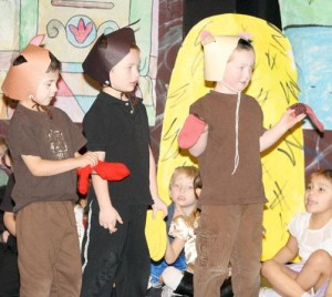 WHA kindergarten presents 'A Time for Rhyme'