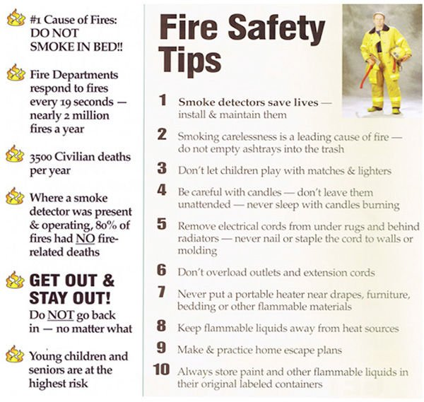 Sept 30 2015 photos the pilot independent home for Fire prevention tips for home
