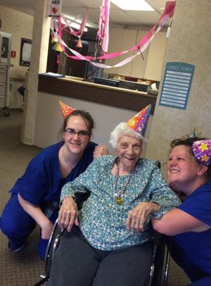 Staff and residents at Golden Living, Walker, recently celebrated National Nursing Home Week.