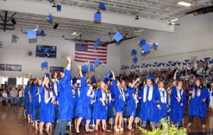 Laporte graduation ceremony friday night the pilot for Laporte schools