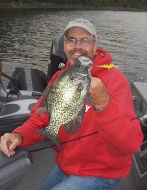 May and June are the best months of the open water season for shallow and aggressive crappies.