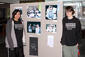 Jada Goose-Jackson and Ian Rezac won awards in the graphic arts category.