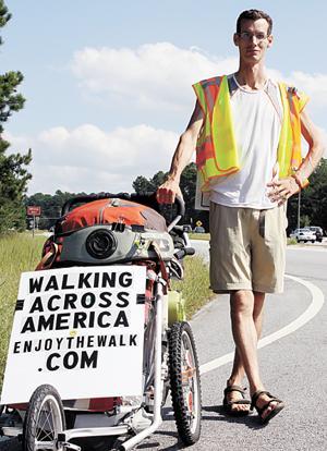 Walking across America
