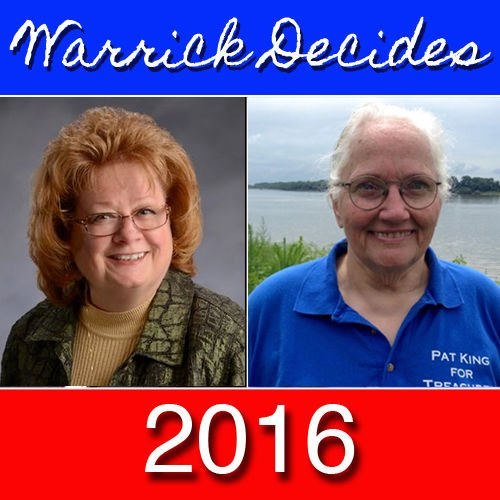 Treasurer candidates political newcomers