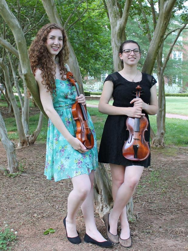 Willa and Ledah Finck to present violin recital at ASU May 23