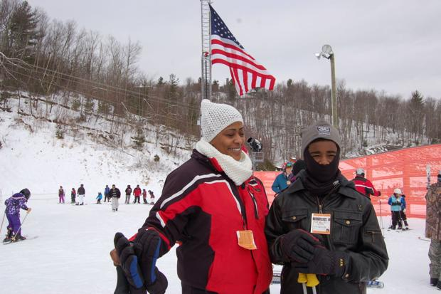Wounded Warriors take to the slopes