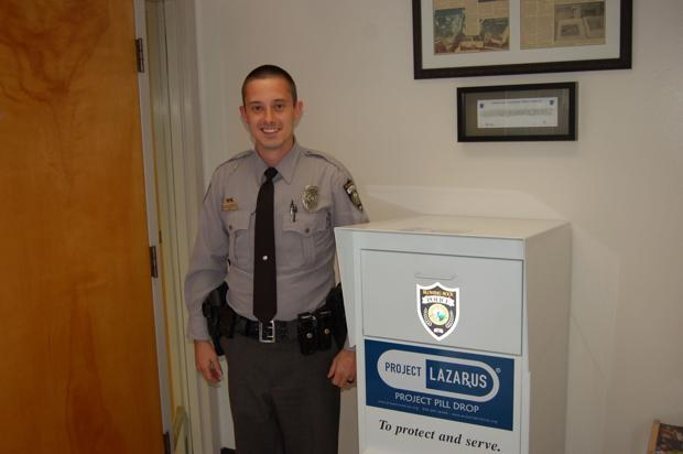 BRPD installs new drug disposal box