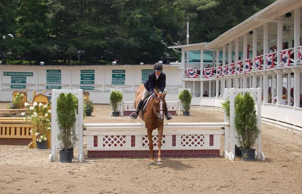 Hunters and jumpers gallop into Blowing Rock this week