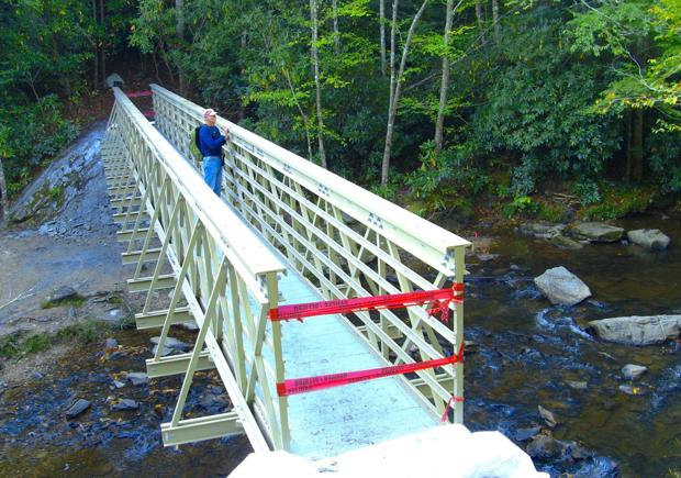 Boone Fork Trail bridge to be dedicated Oct. 22