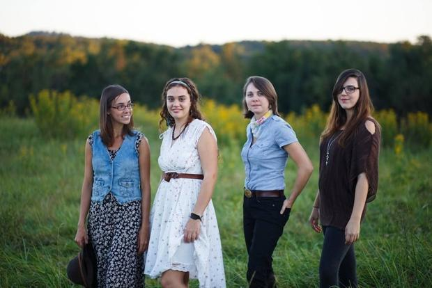 The Buck Stops Here infuses old-time music with youthful energy