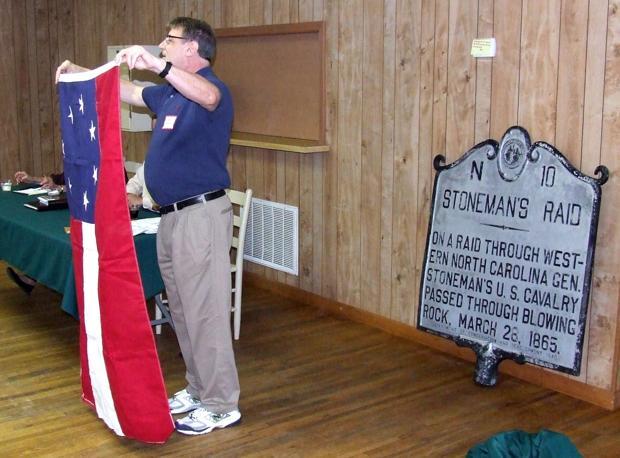 Stoneman's Raid historical marker stolen