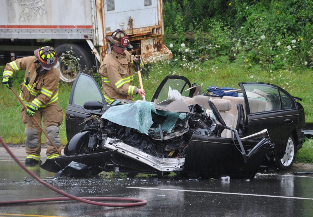Tractor Trailer Head On : Tractor trailer car collide head on news