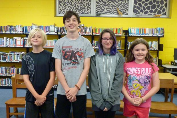 Blowing Rock's Spelling Bee winners