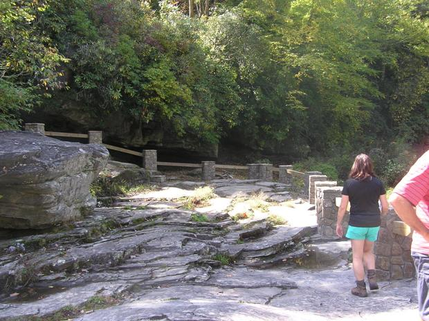 New Linville Falls overlook opens
