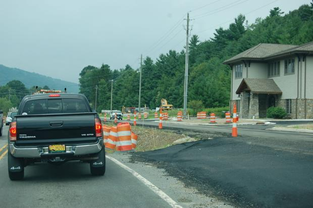 U.S. 321 traffic shift could happen today in Blowing Rock: UPDATED
