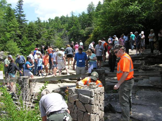 New Linville Falls Overlook to open in late September