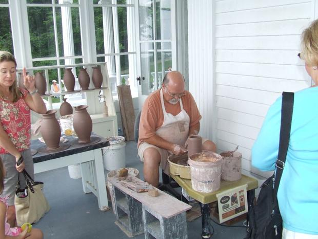 Parkway craft demonstrations return to Cone Manor May 8
