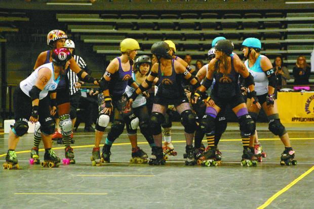 Appalachian Rollergirls return to Holmes Saturday