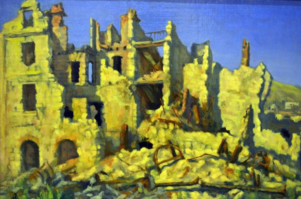 'Ruined Landscapes: Paintings of the Balkan War Zone'