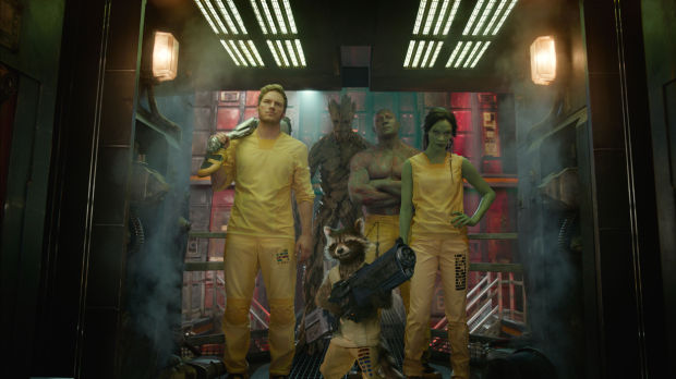 'Guardians of the Galaxy' an intergalactic blast