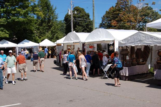 Blowing Rock's Art in the Park returns May 9