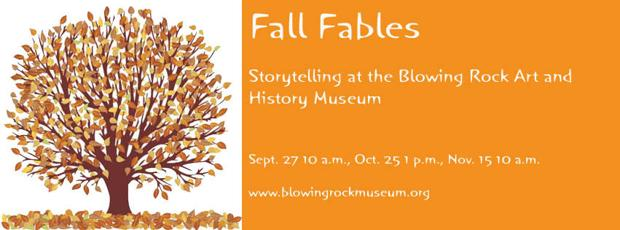 BRAHM to present Fall Fables