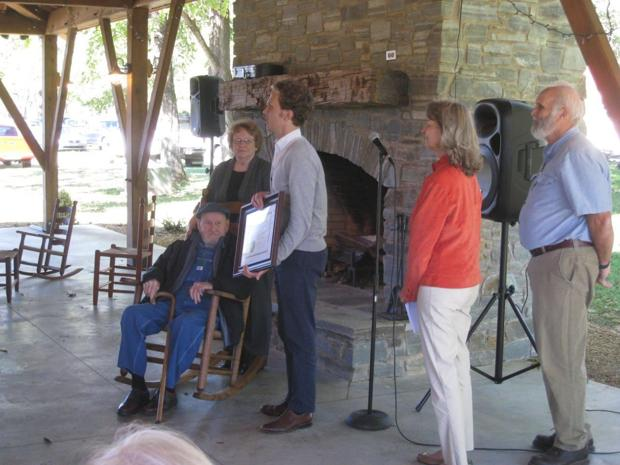 NC Folklore Society honors chair maker Max Woody