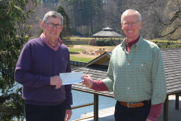 Blowing Rock Rotary donates to cyclone relief fund