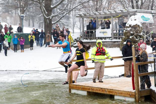18th ASU Polar Plunge held Feb. 18