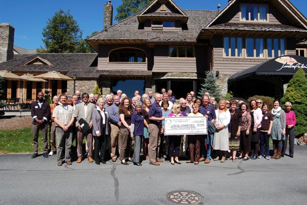 Blowing Rock Rotary gives back