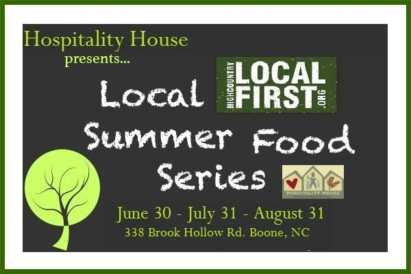 Hospitality House's final Summer Food Series Dinner of 2015