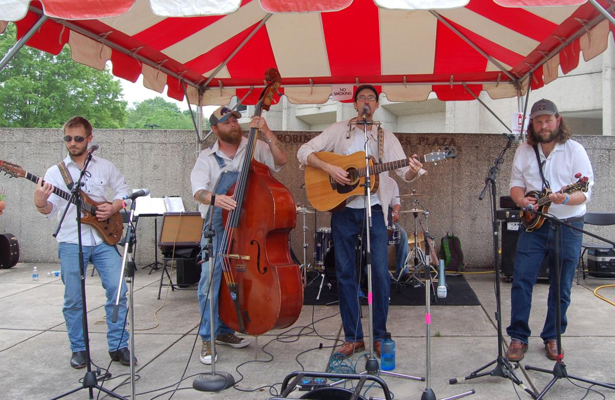Watauga County's Nate Harris and the Spice Creek Band performed in ...