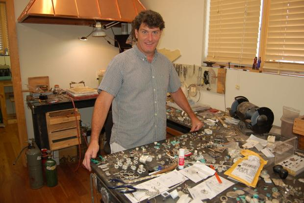 Silversmith celebrates 20 years in Blowing Rock