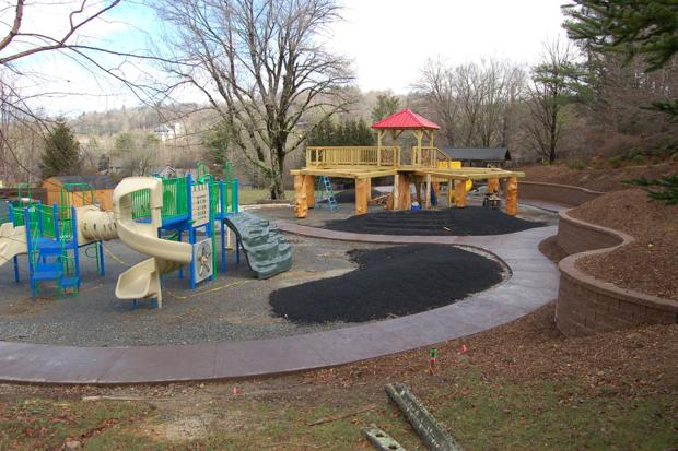 Progress continues on Blowing Rock School playground