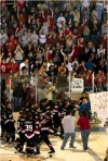 Hawks lay claim to first Clark Cup