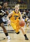 Iowa women upset No. 13 Purdue 59-42