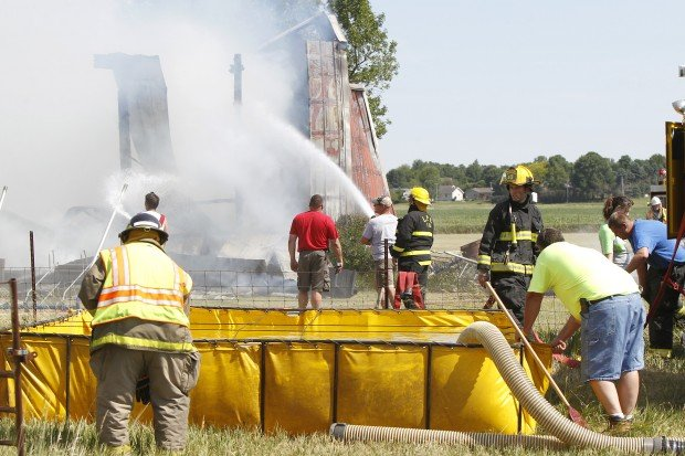Building catches fire in la porte city for City of la porte jobs