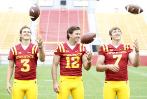 Photos: Iowa State media day