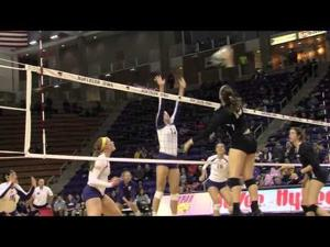 UNI Volleyball Sweeps Evansville to Stay Perfect in MVC
