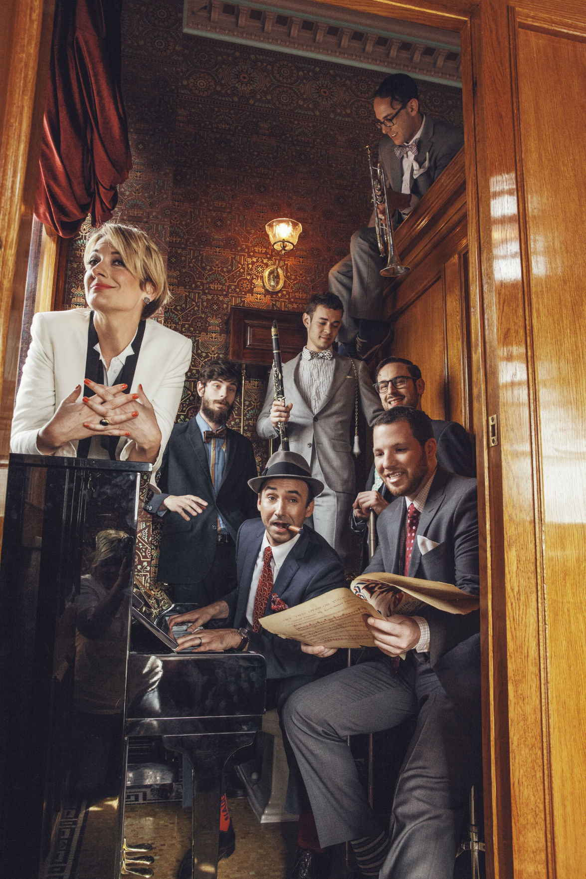 alive and kickin 39 hot sardines 39 straight up jazz to ignite gallagher bluedorn audience. Black Bedroom Furniture Sets. Home Design Ideas