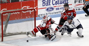 Photos: Black Hawks v Indiana Clark Cup Game 5