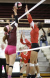 Prep volleyball: Wahawks still looking for power surge