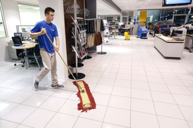 Cleaning Up Uni Student Makes Go Of Janitorial Service