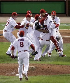 Photos: Cardinals-Rangers World Series