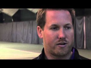 Bradley vs. UNI Tennis - April 13, 2014 - Coach Daniel Finn