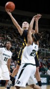 Spartans edge Hawkeyes 63-60 on last-second shot