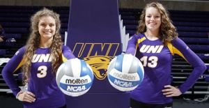 Photos: UNI volleyball media day